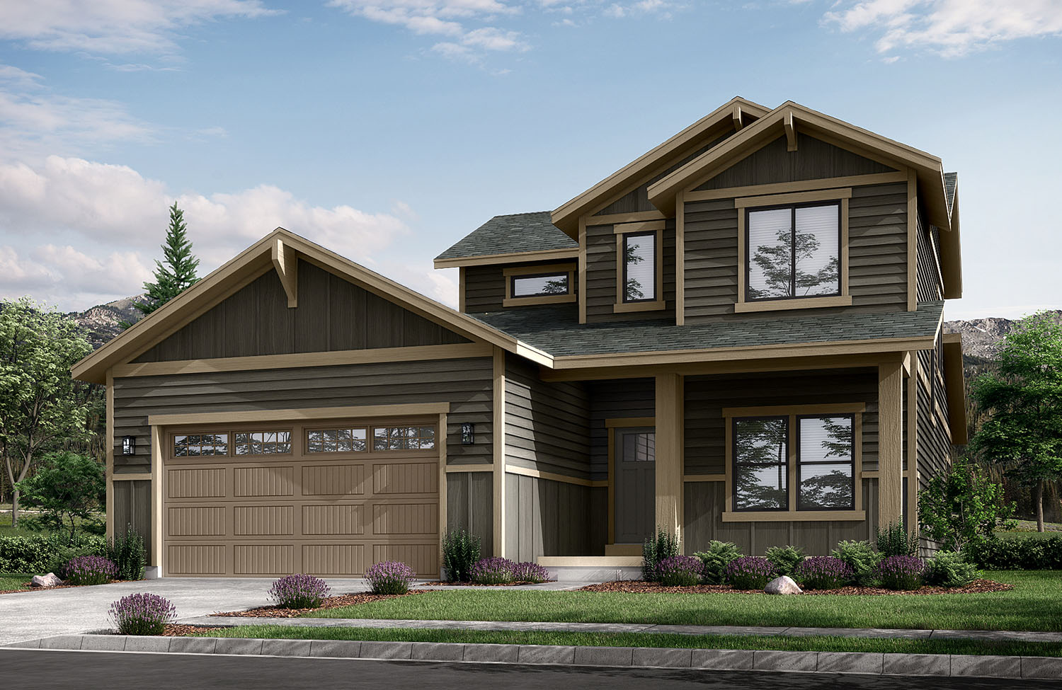 new homes victor idaho